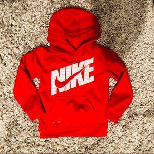 Nike Red Pullover Fleece Sweatshirt Boys 3T